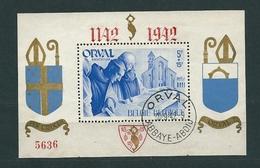 [FB17]  Blok 20 Gestempeld - Blocks & Sheetlets 1924-1960