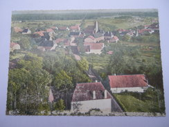 CPSM 39 - EN AVION AU-DESSUS DE RAHON RUE DU MOULIN - Autres Communes
