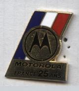 Pin´s Motorola France 25 Ans - Sin Clasificación
