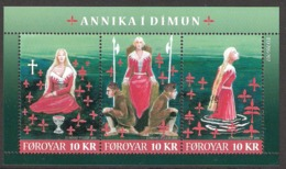 Faroe Islands  2011 Myths And Legends  Mi Bloc 27 MNH(**) - Féroé (Iles)