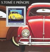 SAO TOME E PRINCIPE 2003 SHEET VOLKSWAGEN CARS AUTOS COCHES St3138 - Sao Tomé E Principe