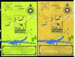 1974 - ST. CHRISTOPHER, NEVIS & ANGUILLA  - Mi. Nr. Block 4/5 - NH - (CW2427.41) - St.Kitts E Nevis ( 1983-...)