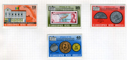 1975 - ST. CHRISTOPHER, NEVIS & ANGUILLA  - Mi. Nr. 293/296 - NH - (CW2427.41) - St.Kitts E Nevis ( 1983-...)