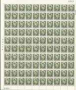 GROENLAND - Feuille Complète (100 Timbres) Du N° 19 Oblitéré - Greenland
