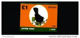 IRELAND/EIRE - 1998  £. 1  BOOKLET  BLACKBIRD  MINT NH - Libretti