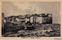 Tobruch_Libia_Villaggio Indigeno_Vg Il 11/3/1937_2 Scan - Libya
