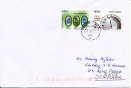 Spain Cover Sent To Denmark Valencia 22-4-2013 With Nice Stamps - 1931-Aujourd'hui: II. République - ....Juan Carlos I