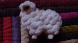 Figurine De Creche Ancienne Mouton - Autres Collections