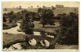 HADDON HALL : DOROTHY VERNON'S BRIDGE / POSTMARK SLOGAN - BRITISH INDUSTRIES FAIR, LONDON & BIRMINGHAM, 1952 - Derbyshire