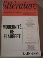 Littérature, Revue Trimestrielle N°15, Octobre 1974: Modernité De Flaubert - Andere Sammlungen