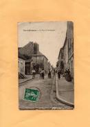 D2204 - Saint Fargeau - La Rue De Bourgogne - Saint Fargeau
