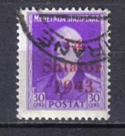 SS6049 - ALBANIA TEDESCA,  Yvert N. 296 Usato . - Albania
