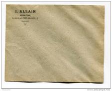 """Enveloppe """"Joseph Allain - Armateur - St Nicolas-près-Granville"""" St Pierre Et Miquelon - Terre-Neuvas - Morue - Sin Clasificación"""