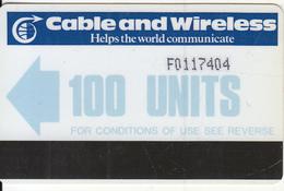 FALKLAND ISL.(Autelca) - C & W Logo/Blue Arrow, First Issue 100 Units(normal 0), Used