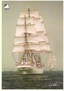 Tall ShipDar Pomorza (Pologne / Poland)  Full-rigged Ship, Steel, Built At Hamburg In 1909 Now Preseved At Gdynia
