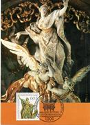 "BRD Maximumkarte ""300.Geburtstag Von Egid Quirin Asam"" Mi 1624 ESSt 13.8.1992 BERLIN 12 - BRD"