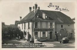G111 - SUISSE - ROMONT - Hôtel De La Belle Croix - Jardin Ombragé - Jeu De Quilles - Restauration Soignée - Vin - FR Fribourg