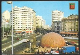 1990 Morocco, Casablanca, Plaza Mohamed, Mailed To USA - Casablanca