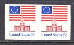 US 1625 A      **    IMPERF.  PAIR - Errors, Freaks & Oddities (EFOs)
