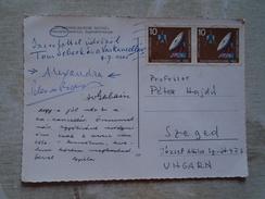 D149242  Hamburg Sent By  Thomas Sebeok Linguist  1961 To  Dr. Peter Hajdú Linguist - Finno-Ugric Dep. - Azerbaïjan