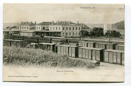 CPA  52  :  CHALINDREY  Intérieur Gare   A  VOIR  !!!!!! - Chalindrey