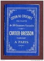 """PETIT ALBUM DE CROCHET   : """" CARTIER-BRESSON """"  ( Genre SAJOU ) - Cross Stitch"""