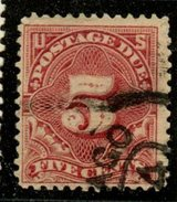 USA 1895 5 Cent Postage Due Issue #J41 - Postage Due