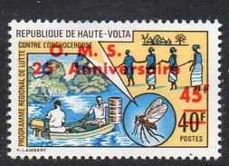 1973 Upper Volta Haute Volta Coiffure WHO Health Complete Set Of  1 MNH - Haute-Volta (1958-1984)