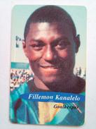 Namibia Phonecard Fillemon Kanalelo Brave Warrior FIFA