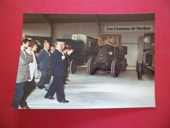 Fondation De L'Automobile Marius Berliet 13 & 14/9/1986 Monsieur Paul Berliet Commentant Les Camions De Verdun TB - Automobiles