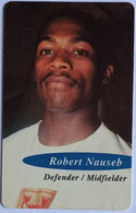Namibia Phonecard N$10 Robert Nauseb Brave Warrior FIFA