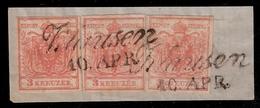 """"""" Klausen """" Klarer L2, Briefstück  ,  #8007 - 1850-1918 Empire"""