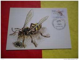 FRANCE (1979) ANIMAUX: L'abeille - Maximumkarten
