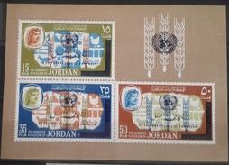 J27 Jordan 1966 Mi. Block 33 Souvenir Sheet S/S MNH - Anti-Tuberculosis Campaign - Jordanie