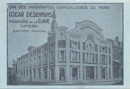 CPA CAMBRAI - MAGASINS DE LA CAVE - BATIMENT PRINCIPAL - 1928 - Cambrai