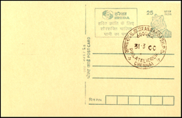 India, 2000, IREDA, Indian Renewable Energy Development, ADVERTISEMENT On POSTCARD, Post Card, Stationery, Conservation.