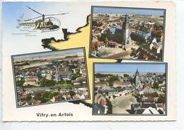 Vitry En Artois : Multivues Aérienne Géographique Hélicoptère (n°170 Lapie) - Vitry En Artois