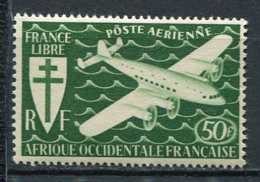 AOF -  Yv.  PA  N°  2   ** MNH   50f  Série Londres   Cote  3,8 Euro  TBE  2 Scans - A.O.F. (1934-1959)