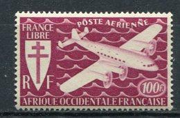 AOF -  Yv.  PA  N°  3   ** MNH   100f  Série Londres   Cote  4 Euro  TBE  2 Scans - A.O.F. (1934-1959)