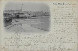** Belle Cpa De 1901 En Tbé-  Dos Simple ** Ed (voir Scan) - Saint Malo