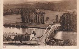 CPA  31 - SALIES-DU-SALAT - La Vallée Du Salat Et Le Nouveau Pont - Salies-du-Salat