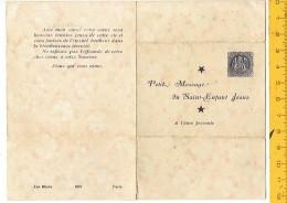 Kl 8103 Petit Message Du Saint Enfant Jesus - Religion & Esotérisme