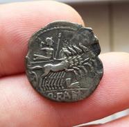 Denier FABIA - Quintus Fabius Labeo - ROMA/ LABEO - Romaines