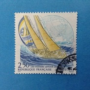 1993 FRANCIA FRANCOBOLLO USATO STAMP USED - Lavoratori Postali Nel Mondo