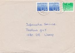 Envelop 16 Dec 1988 Zelhem (stempeltype CB) - Postal History