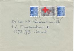 Envelop 24 Nov 1989 Wierden (stempeltype CB) - Postal History