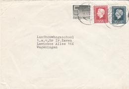 Envelop 11 Feb 1980 Volkel 1  (stempeltype Openbalk) - Postal History