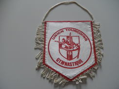 Fanion GYMNASTIQUE - UNION TOURCOING - NORD - Gymnastics