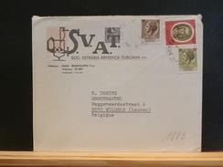 IT/1883  LETTRE .ITALIE  POUR LA BELG. - 6. 1946-.. Repubblica