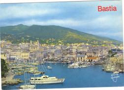 Corse . BASTIA .  Vieux Port  . Circulée 1993 . - Bastia